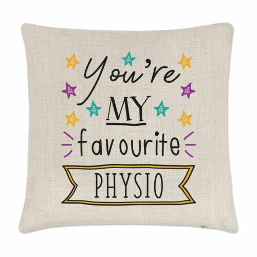 You/'re My Favourite Physio Stars Cushion Cover Pillow Funny Best