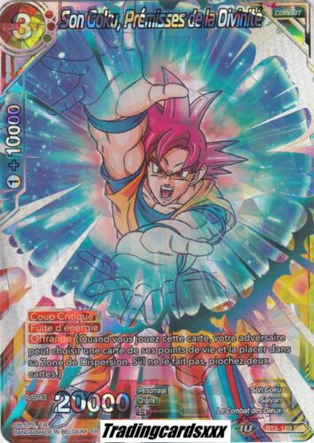 VF BT8-109 SR Prémisses de la Divinité ♦Dragon Ball Super♦ Son Goku