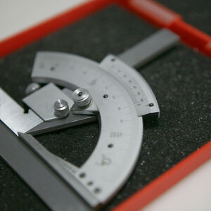 320 Degree Universal Bevel Protractor Angle Finder Ruler Gauge Tool -US Stock