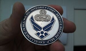 U.S Challenge Coin 3005 Chief Master Sergeant E-9 Air Force