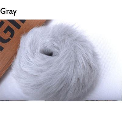 NEW Women Hair Rope Tail Accessories Scrunchie Fake Fur Ponytail Elastic Plush