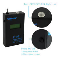 Us Retevis R-511 Decoder Counter Meter Test 9v Lcd Ctcss/dcs Display Frequency