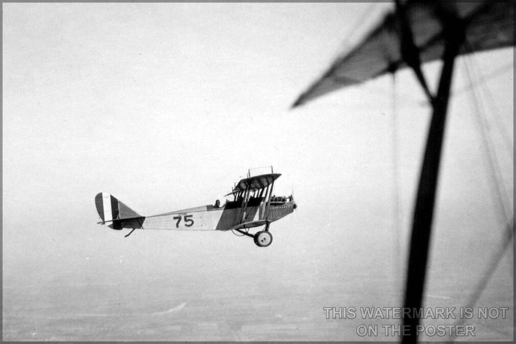 Plakat, Viele Größen; Curtiss Jn-4 Jenny P2