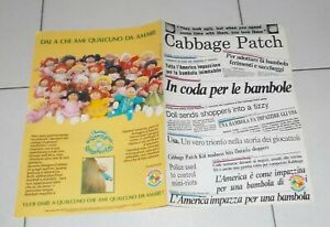 Brochure-Bambole-CABBAGE-PATCH-KIDS-Bamboli-1984-Depliant-Pubblicita