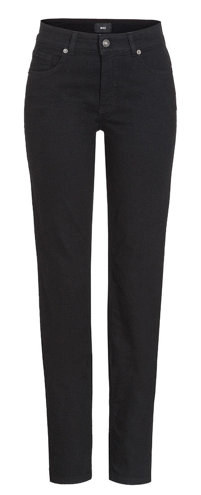 MAC Damen Jeans Melanie 5040 NEU schwarz D999 Alle Größen Längen
