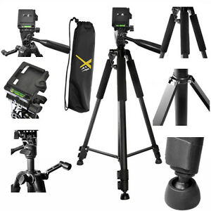 60-034-PROFESSIONAL-TRIPOD-WITH-QUICK-RELEASE-FOR-CANON-EOS-REBEL-DSLR-T5-T6-T3-T1