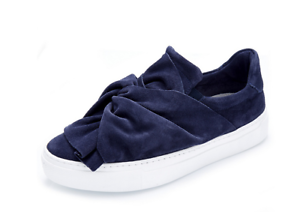 amp; Knot 3 Rrp Blue Suede On Bronx £105 Slip Uk Navy New 36 Boxed Shoe UTwMPq