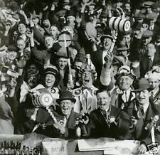 West Ham United FC Football Fans 1933 5x5 Inch Reprint Photo