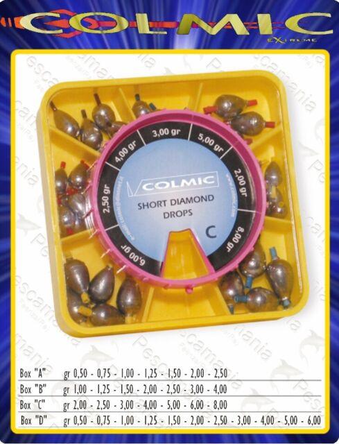 Confezione da 10 Piombi Torpille Calibrate Connesse con Tubicino Pesca Gara CSP