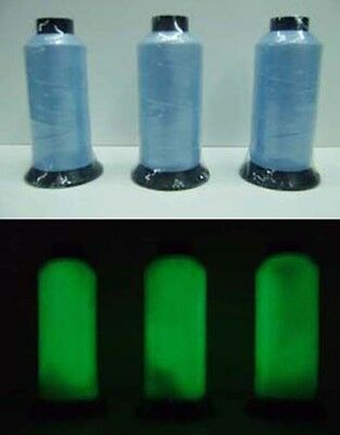Bobina de Hilo Fotoluminiscente-Fosforescente Azul