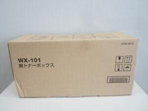 Konica Minolta Waste Toner Box Original/(a162-wy2)/wx-101/neuf & Neuf Dans Sa Boîte-afficher Le Titre D'origine