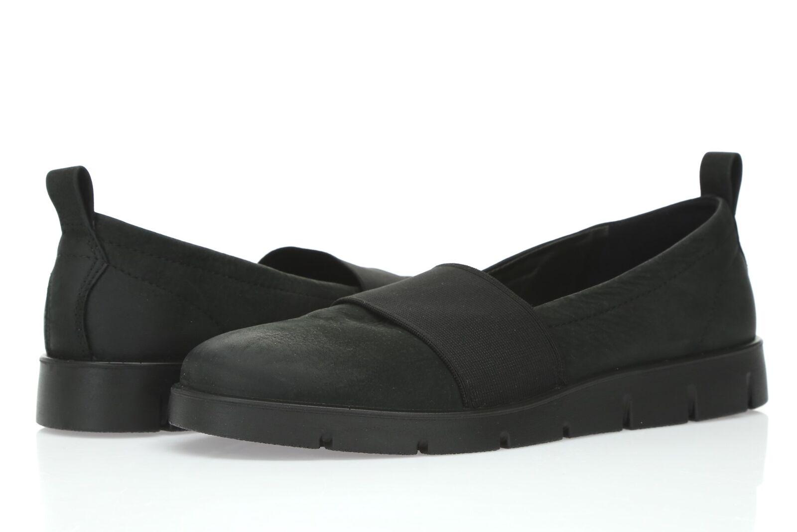 spedizione veloce in tutto il mondo Ecco Bella Donna nero leather stretch stretch stretch slip on scarpe sz. 37 ( 6-6.5 )  alta qualità e spedizione veloce