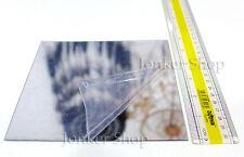 2 x Mirror Square Mirrored Sheets Non Glass Plastic Flexible Craft Tiles 15cm