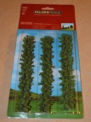 Faller Premium HO Scale 3 Hedge Rows 181350 NEW