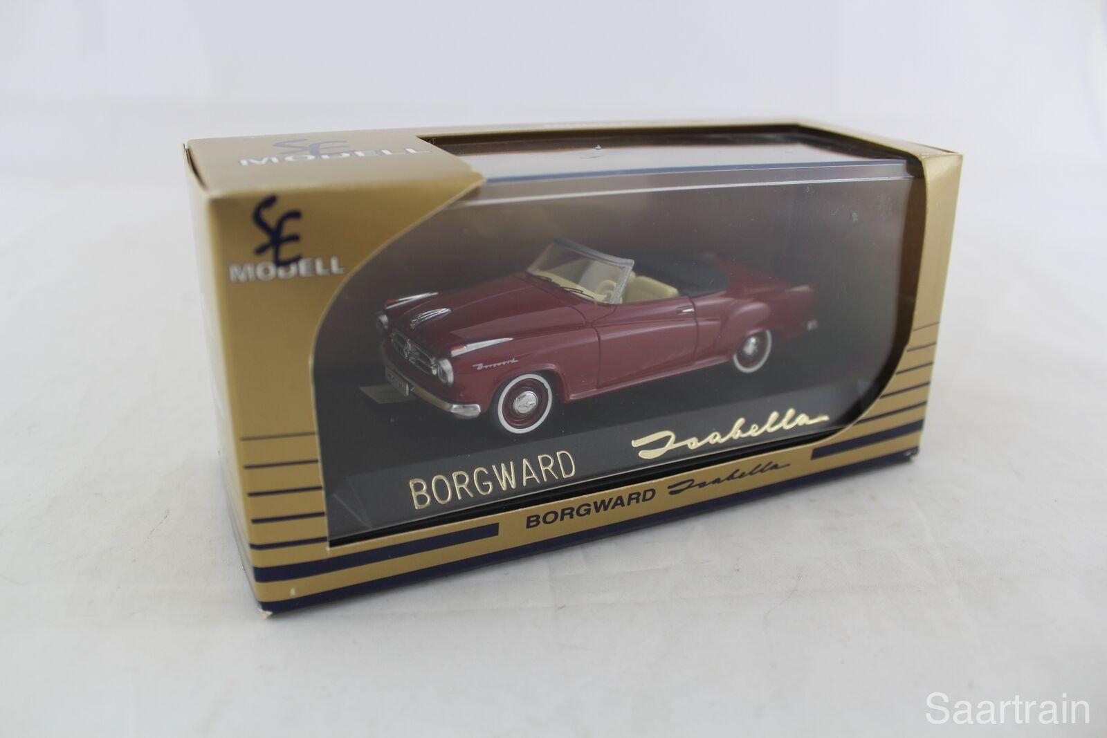 1 43 SE Modell 1003 Isabella Cabrio offen 1957 Corridared