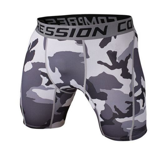 Men/'s Fitness Gym Shorts Compression Wear Workout Sport Trunks Athletic Tights