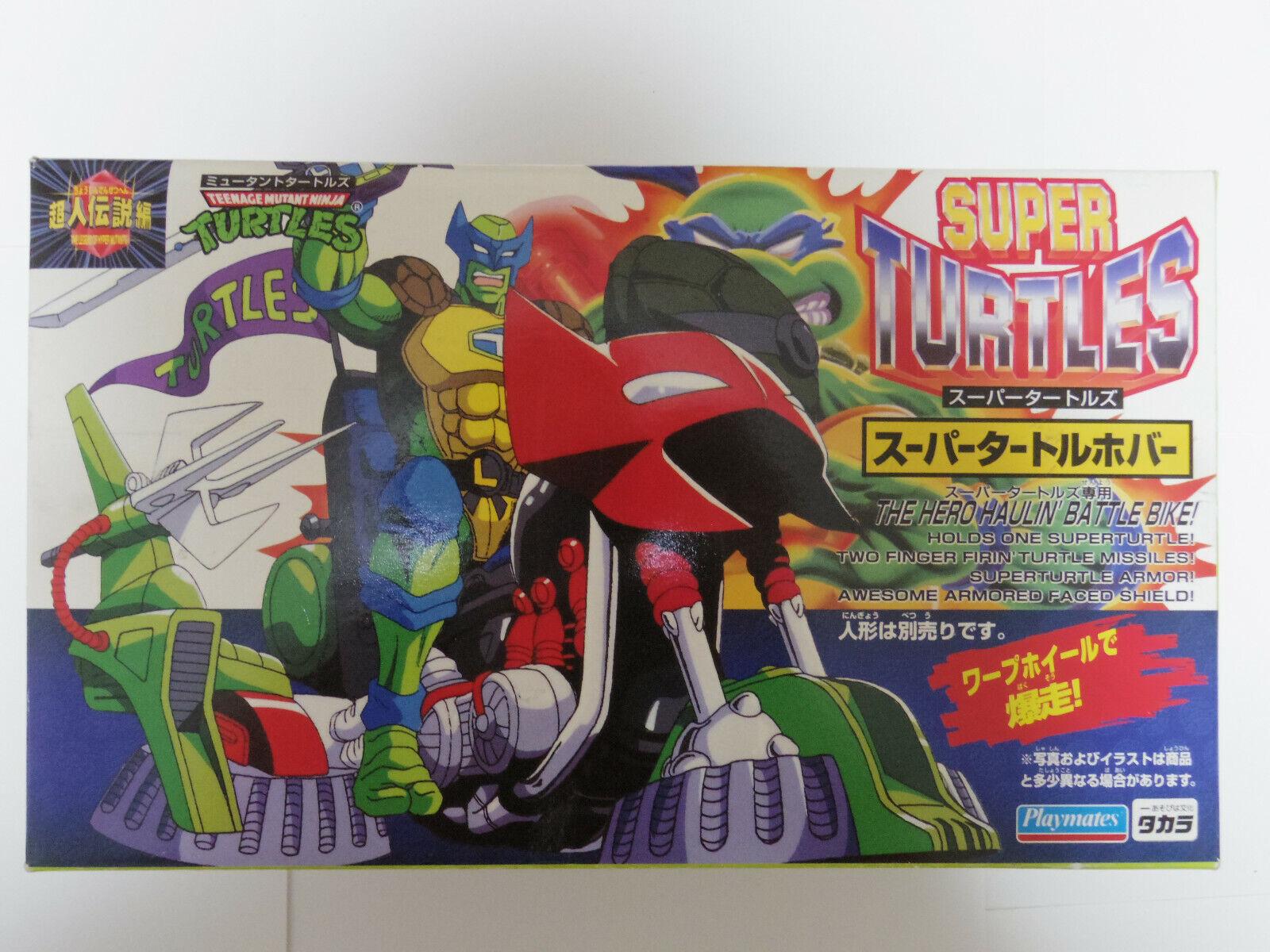 NIB Teenage Mutant Ninja Turtles Super battle Fahrrad Playmates Takara 1995 Japan