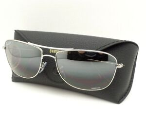 Ray 0035j Ban Sunglasses Polarized Mirror New Silver 3543 59mm qwUqfzp