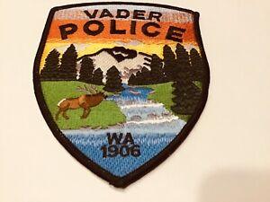 VADER WASHINGTON POLICE SHOULDER PATCH