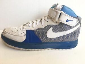 653889b70244 Nike AIR FORCE 1 MID JORDAN 23 X CUSTOM 318376 141 Sz 11.5 318376 ...