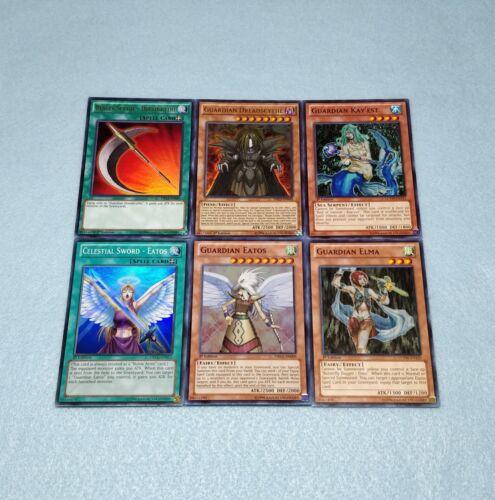 Yugioh Rafael Deck Core Guardian Eatos Dreadscythe Elma Kay/'est Sword Card Set