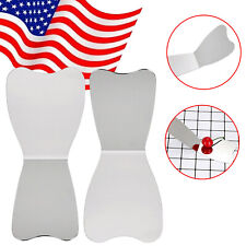 12pcs Dental Oral Mirror Stainless Steel Autoclavable Photographic Reflector