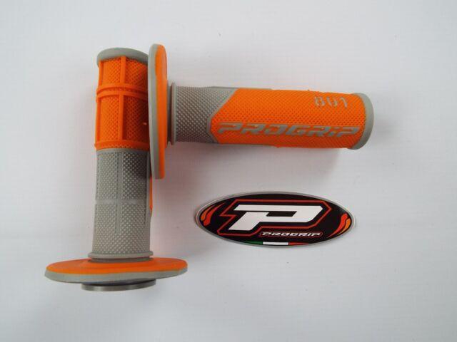 Pro Poignée 801 Orange Poignées motocross enduro SX250 SXF250 SXF350 SX85 SX125