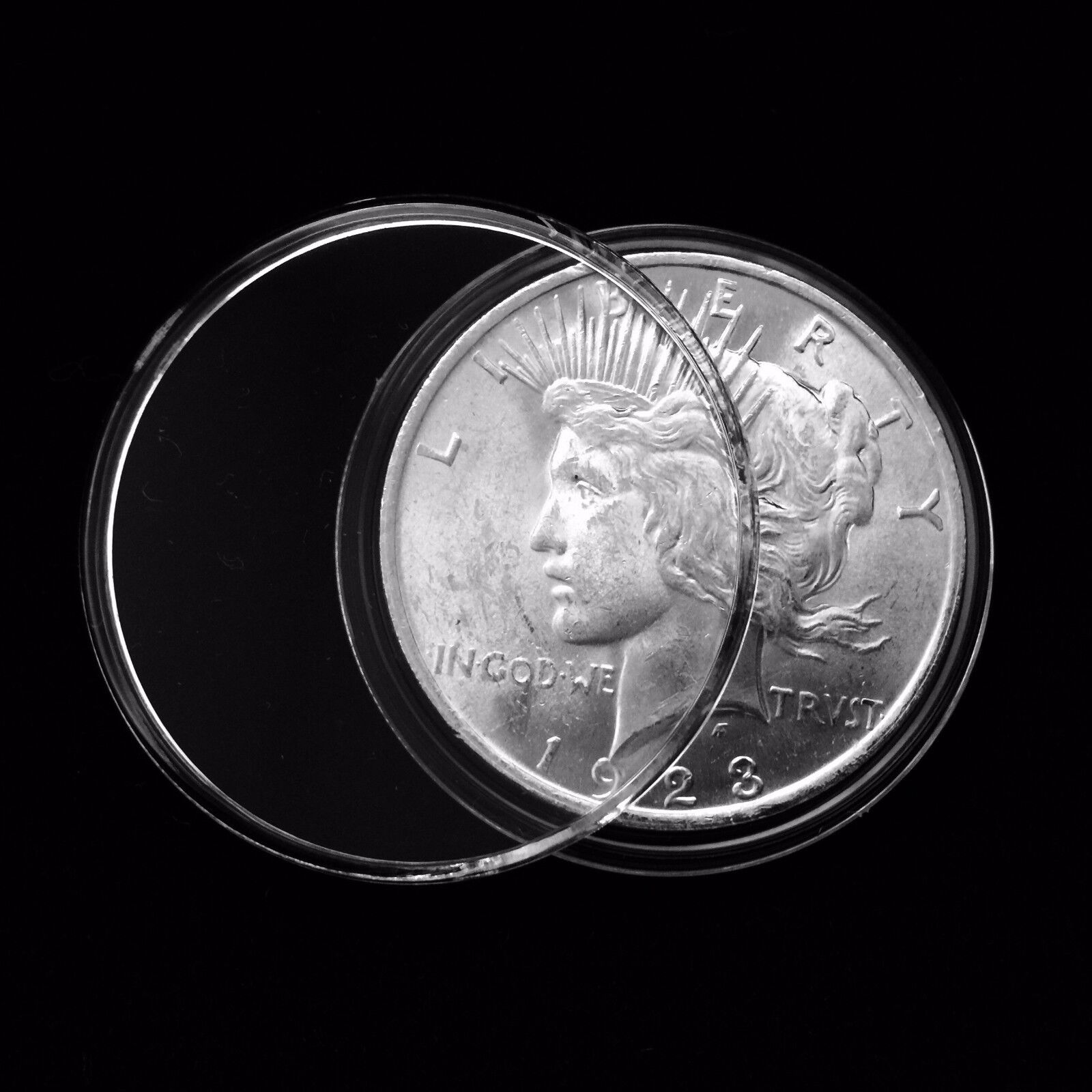 250 Guardhouse 38mm Airtight Coin Capsules for 1 oz Canadian Silver Maple Leaf