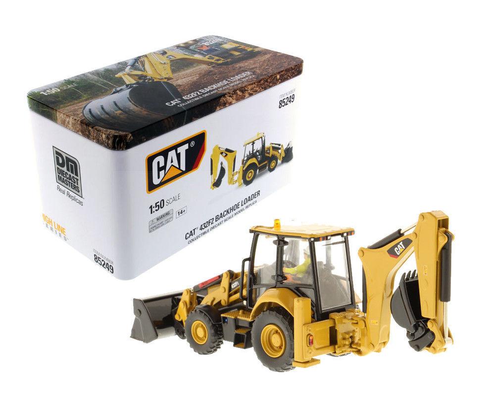 1 50th Caterpillar Cat Diecast Model 432F2 Side Shift Backhoe Loader 85249