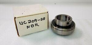 UC209-28-NBR-LOT-OF-2-INSERT-BALL-BEARING-1-3-4-SHAFT-2-SET-SCREWS