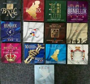 EUROSET BENELUX COFFRET BU (Années 2003 à 2015) 3 x 8 Pièces