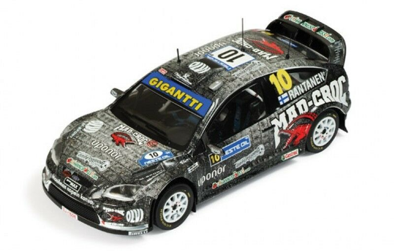 1 43 Ford Focus RS WRC MAD CROC Energy Drink  Rally Finland 2009 M.Rantanen