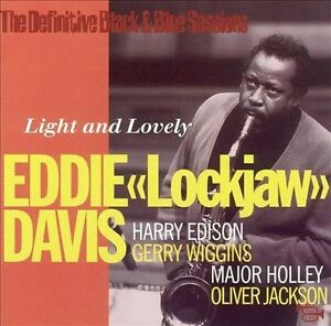 Light-and-Lovely-by-Eddie-034-Lockjaw-034-Davis-Tenor-CD-Apr-1997-Black-and-Blue