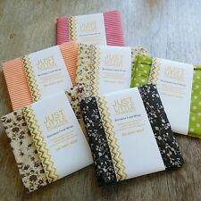 Reusable Wax Food Wraps - Soy Wax, Beeswax, Small Large 100% Cotton Zero Waste