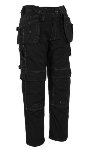 50 schwarz lange Bundhose Cordura Kniebesatz Mascot Hose Ronda Arbeitshose Gr