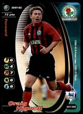 Gb1897 Blackburn R 38//250 Matt Jansen Football 2001-02 Wizards of the Coast
