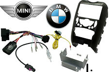 BMW Mini R56 Car Stereo Double Din Fascia & Steering Wheel Interface CT23BM02