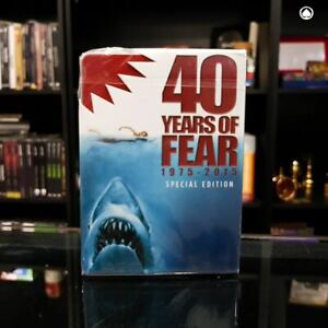 Jaws 40 Years of Fear Special Edition Playing Cards Poker Size Deck USPCC