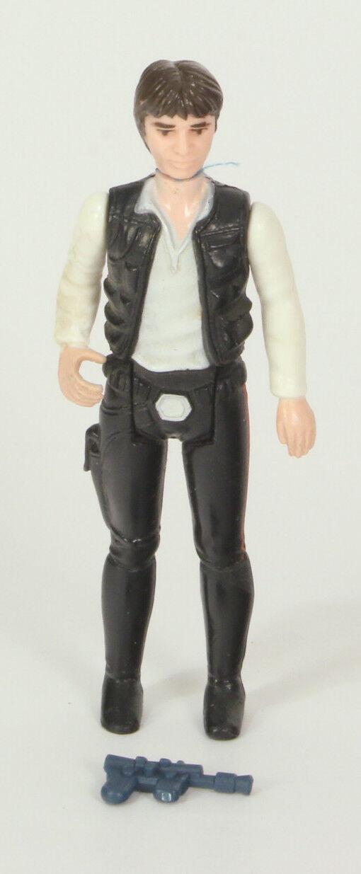 Vintage Star Wars Loose Han Solo First 12 Very Nice Big Head