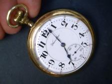 Gold 25year Hamilton 21 Jewel 992 RAILROAD Grade Pocket Watch Mechanical USA 16s