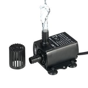 10W 400L/H Pompe d'acqua per laghetti e fontane UltraSilenzioso T3U3