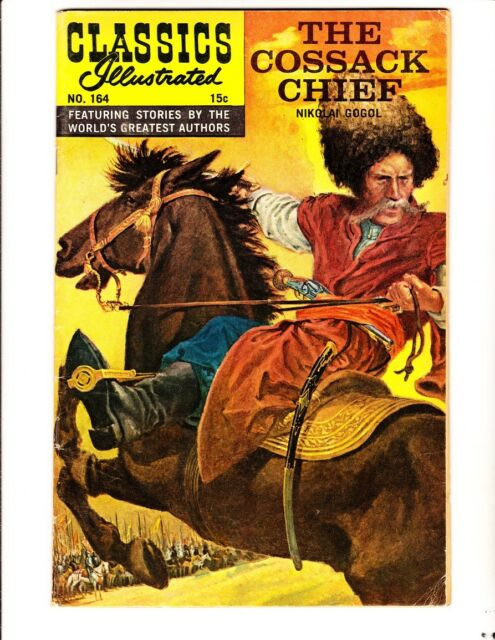 Classics Illustrated 164: The Cossack Chief (1961): Orig: FREE to combine: VG/F