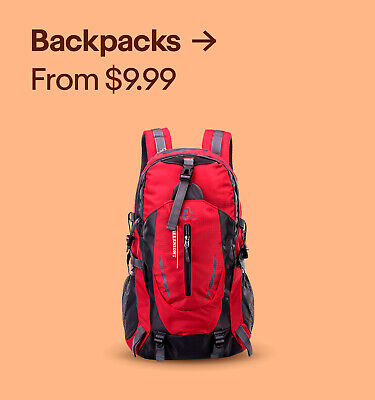 Backpacks from $9.99