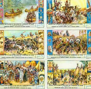 LIEBIG : S_1641 - 'Indiens des plaines et des bois de