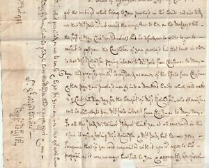 1744-BEN-BLYTH-LETTER-DERBY-PMK-TO-ROBERT-NEWTON-AT-NORTON-SHEFFIELD-WITH-REPLY