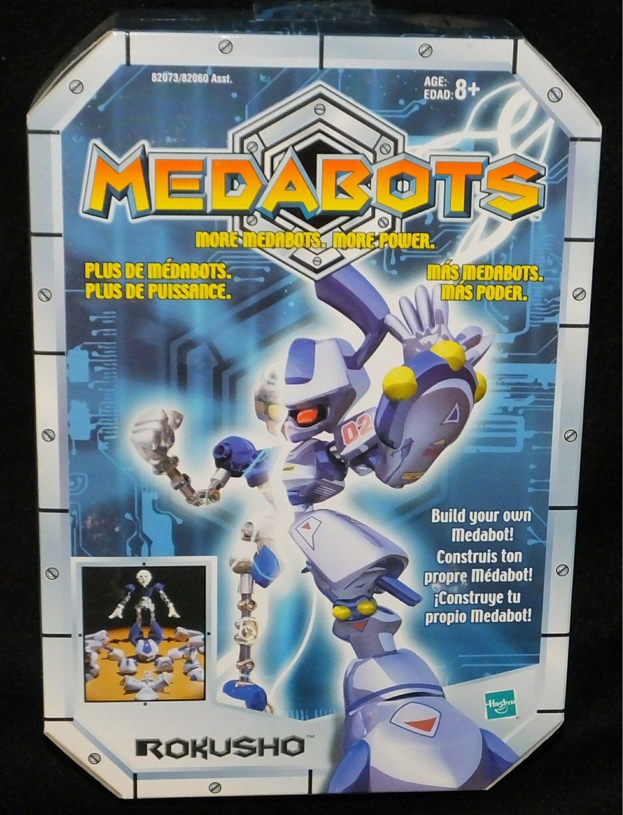 Medabots Build Your Own Kits 6  Rokusho New Factory Sealed Hasbro Medared 1997