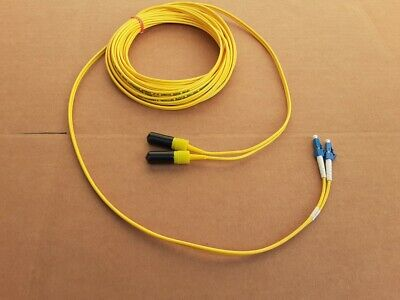 US MADE   10 m   BICONIC  to   ST     single mode  fiber optic  cable