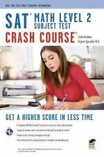 SAT Subject Test™: Math Level 2 Crash Course Book + Online (SAT PSAT ACT