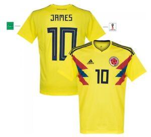 Trikot Adidas Kolumbien WM 2018 Home James 10 [152 bis XXL