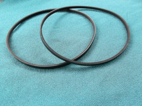 2 NEW DRIVE BELTS MADE IN USA FOR ROCKLER EXCELSIOR MINI LATHE MC-1018